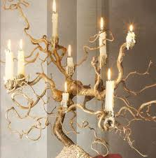 tree branch candle holder see manzanita candelabras from time to time and always want to do