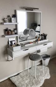 Bedroom Makeup Vanity With Lights Bedroom Makeup Vanity Images With Set Desk Lights 2018