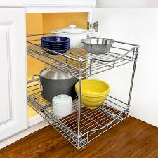 kitchen cabinet pull out storage racks 2 tier sliding cabinet pull out drawer