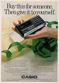 1977 casio cq 1 calculator computer christmas gift ad vintage