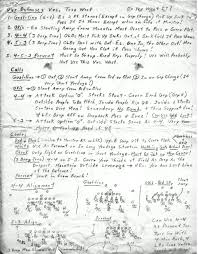 football writing paper football scouting report page 7