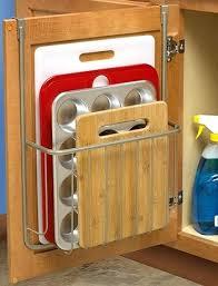 cabinet storage ideas kitchen storage ideas over the cabinet cutting board kitchen storage