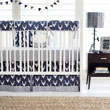 Baby Deer Crib Bedding Blue Deer Crib Bedding Navy Crib Bedding Navy Deer Baby Bedding