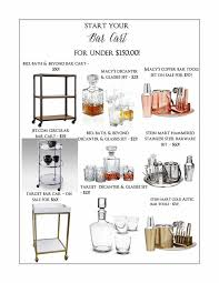 Bed Bath And Beyond Fayetteville Ar Bar Cart On A Budget Lifestyle Blogger Event Planner