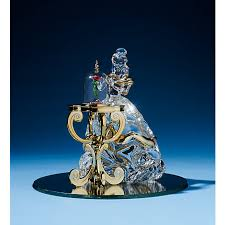 arribas glass collection ornament and the beast