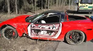 corvette crash my corvette c6 z06 and after crash pictures