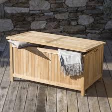 fabrication de coffre en bois banc coffre de jardin en bois architecture d u0027intérieur idees