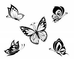 black butterfly tattoos designs black butterfly tattoos designs