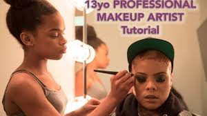 Professional Makeup Artistry 13yo Professional Makeup Artist Tutorial Youtube