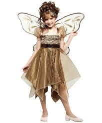 metallic copper fairy costume for kids fairy costumes