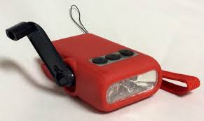hand crank led light affinity hand crank 5 led bright light flashlight package of 3 red