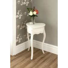 White Side Tables For Living Room Furniture Narrow Side Table And Coffee With Small Glass