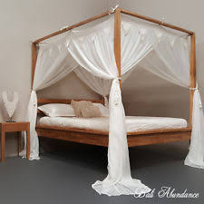 poster bed canopy four poster bed canopy ebay