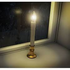 Window Candle Lights Window Candles The Christmas Mouse