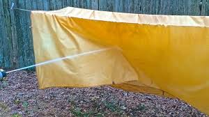 Bedsheets How To Make Lightweight Oilskin Tarps From Bed Sheets Survival