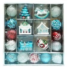 christmas ornament sets martha stewart living christmas morning ornament set 19 count c