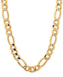 figaro chain necklace images Italian gold men 39 s figaro chain necklace in 10k gold necklaces tif
