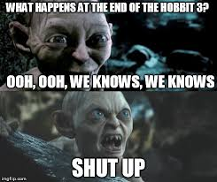 This Is The End Meme Generator - gollum schizophrenia meme generator imgflip