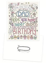 happy birthday to the super dad nicewishes