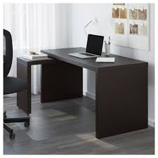 desk with pull out panel malm desk with pull out panel black brown 151x65 cm ikea