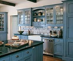 Two Color Kitchen Cabinet Ideas Blue Kitchen Cabinets Two Color Kitchen Cabinets Ideas Dmujeres