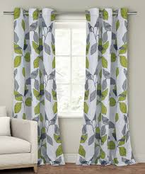Green And White Curtains Decor Green Curtain Panels Curtains Ideas
