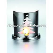 metal aluminum christmas tree candle holder tealight holder buy
