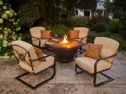 Saybrook Outdoor Furniture by Fire Tables U0026 Fire Pits Outdoor Kitchen Factory