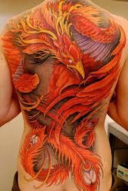 amazing full back phoenix tattoo designs tattoo design ideas