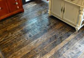 Rustic Looking Laminate Flooring Barnwood And Bangles Reclaimed Wood Kitchen Floor