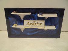 aynsley fine english bone china flower place card holders set of 4