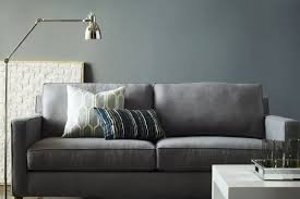 sofa loveseat with console discount sofas dark grey couch l