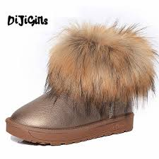 s boots with fur s shoes fur fashion boots 2018 winter cotton