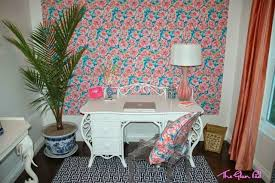 Lilly Pulitzer Rug One Room Challenge Final Reveal
