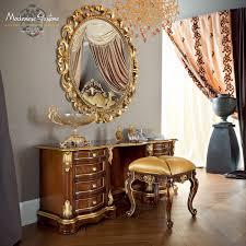 wall mounted mirror classic oval metal bella vita