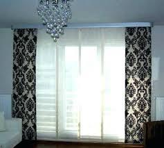 Curtains For Glass Door Sliding Glass Door Curtain Cool Window Treatments Ideas