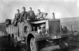 opel truck ww2 einheitsdiesel ww2 wehrmacht truck 1942 russia soft skinned