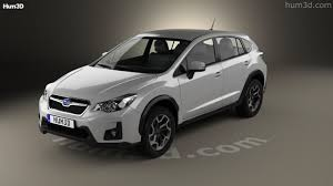 subaru crosstrek 2016 360 view of subaru xv 2016 3d model hum3d store