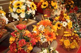 Fall Floral Decorations - do homemade floral centerpieces and wreaths sell well at craft