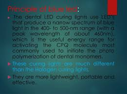 what is a dental curing light used for dental light cure
