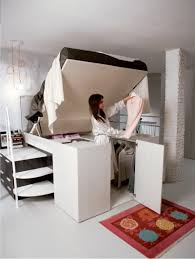 a closet hide a closet platform bed tops spacious storage compartment