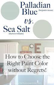 bathroom colors choosing the right bathroom paint colors sea salt vs palladian blue choose paint colors without regrets