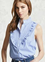 preppy hair women women s preppy style agaric laces sleeveless stripped shirt