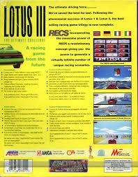 si e auto la route lotus iii the challenge the gremlin graphics archive