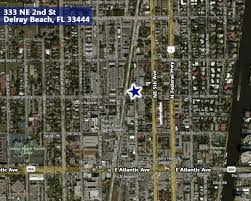Map Of Delray Beach Atlantic Commercial Group Inc Commercial Real Estate South
