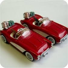 1991 classic american cars 1 1957 corvette hallmark ornament at