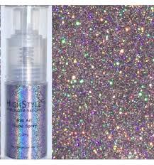 holographic glitter glitter spray hologram lilac 24g nadja beauty