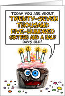 75th birthday cards from greeting card universe