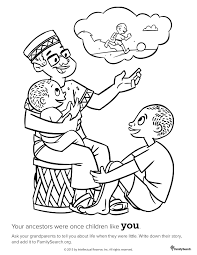 lds coloring pages family virtren com