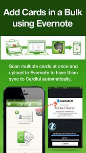 Business Card Evernote Cardful Business Card Management On Evernote On The App Store